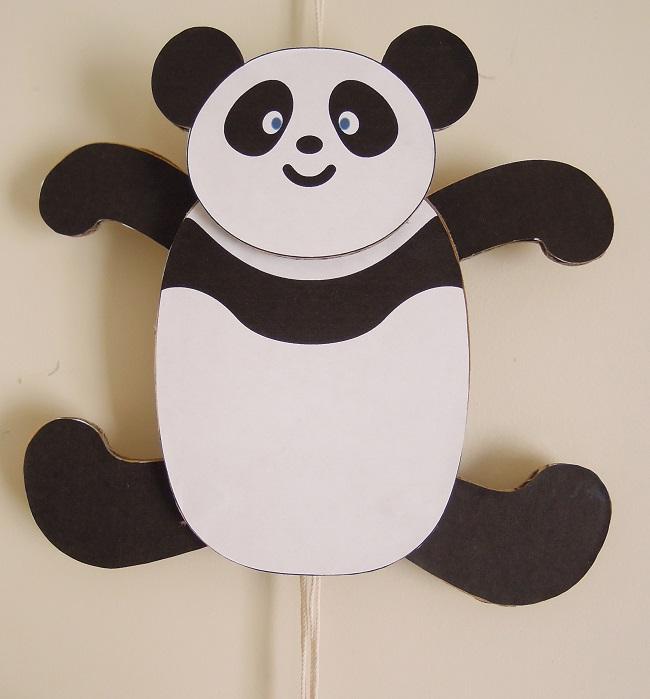 パンダあやつり人形