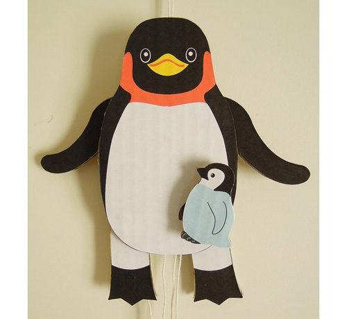 ペンギンあやつり人形