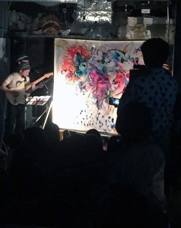 the SNACKアートナイト・イベント