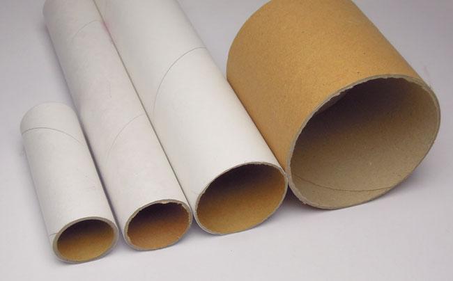 様々な大きさの紙管