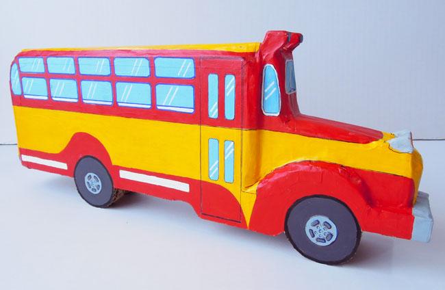 ミニ・ボンネットバス工程