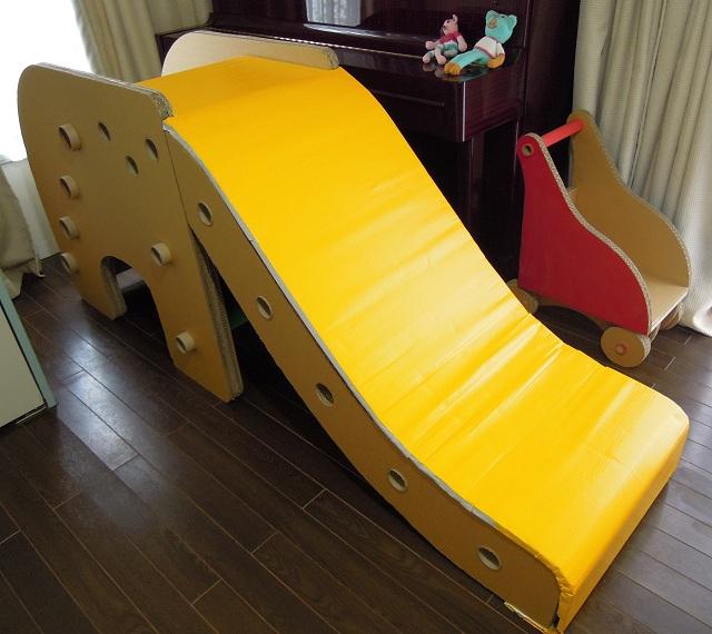 ゾウさん滑り台制作