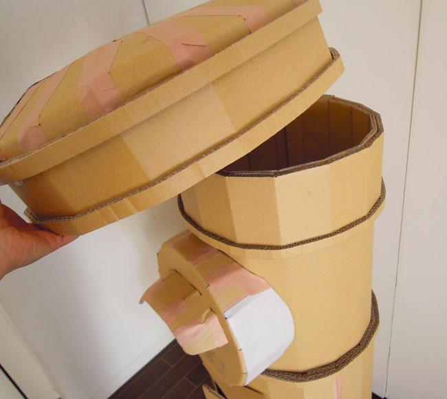 昭和レトロのポスト制作過程